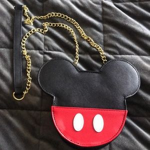 Mickey Mouse Loungefly Crossbody Purse